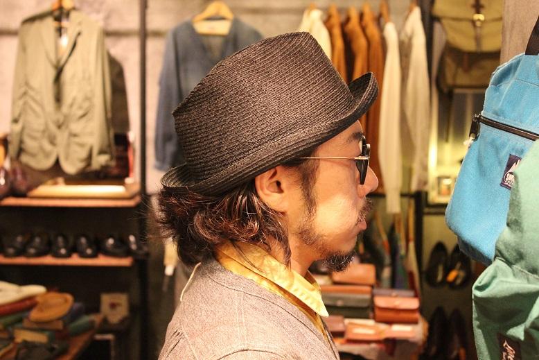 "\""SAN FRANCISCO HAT\"" エクアドル産PANAMA HAT ご紹介_f0191324_10134226.jpg"