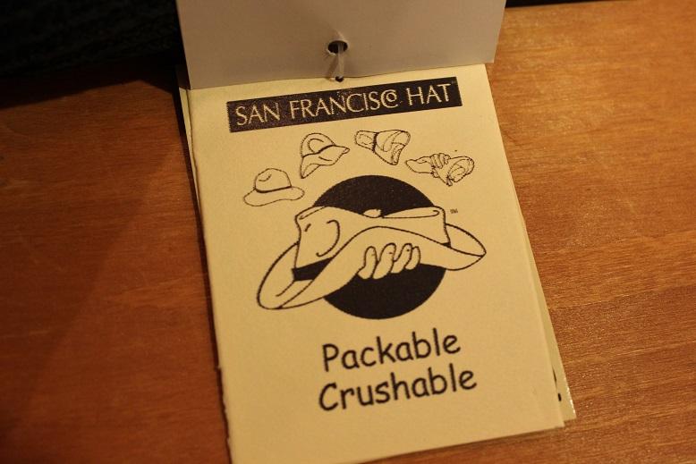 "\""SAN FRANCISCO HAT\"" エクアドル産PANAMA HAT ご紹介_f0191324_10142223.jpg"