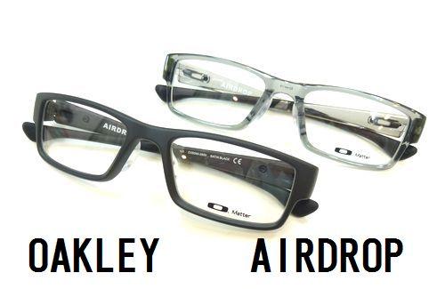 OAKLEY-オークリー- NEW RXフレーム AIRDROP 入荷しました! by 甲府店_f0076925_11493571.jpg