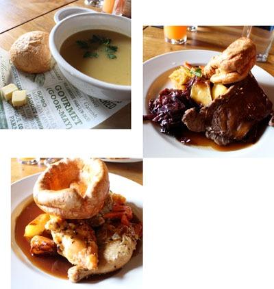 英国の家庭料理、サンデーロースト_b0199526_2117157.jpg