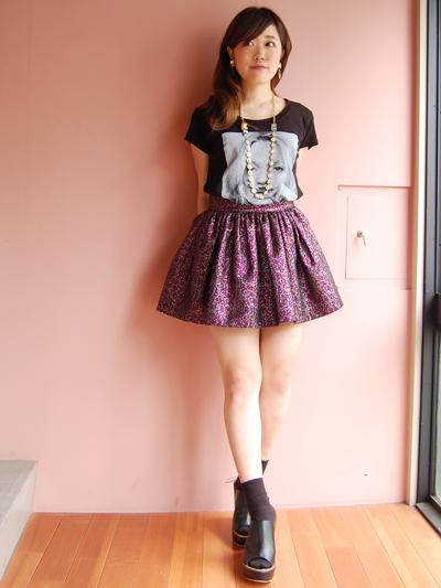 fleamadonnaのミニスカート♡by natsumi_f0053343_1883651.jpg