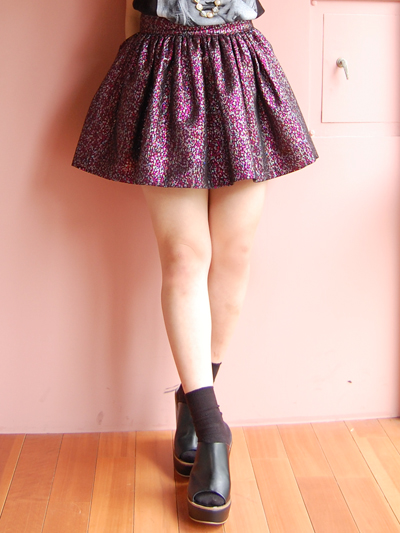 fleamadonnaのミニスカート♡by natsumi_f0053343_1884994.jpg