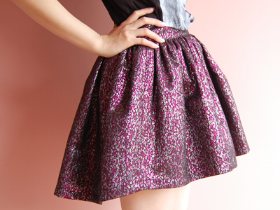 fleamadonnaのミニスカート♡by natsumi_f0053343_1885197.jpg