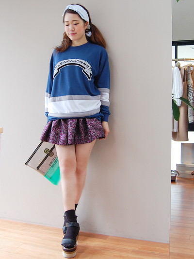 fleamadonnaのミニスカート♡by natsumi_f0053343_1885319.jpg