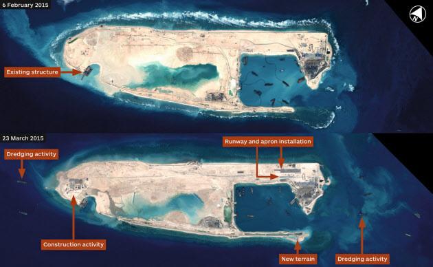 ■中国 南沙諸島で滑走路を複数建設か_e0006194_07245246.jpg
