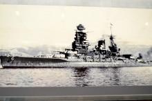 戦艦長門の軍艦旗が大和ミュージアムにある理由:石坂浩二さんがゲットして寄贈。_e0171614_11301237.jpg