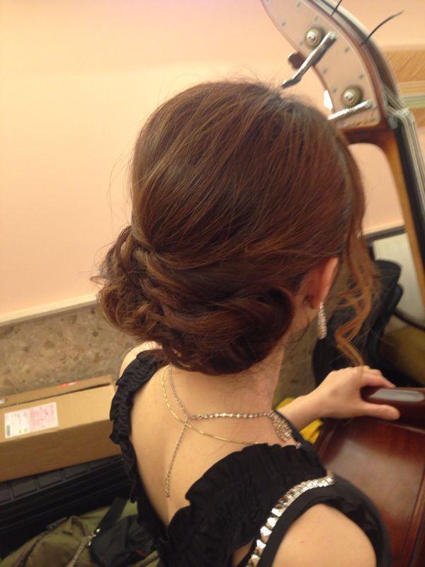 今日から3日間名古屋観光ホテルの美食会での演奏です。_c0091117_18402237.jpg