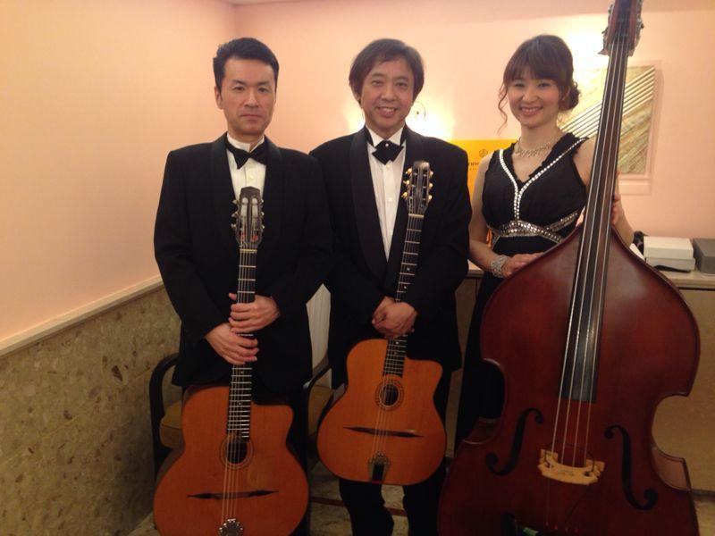 今日から3日間名古屋観光ホテルの美食会での演奏です。_c0091117_18402392.jpg