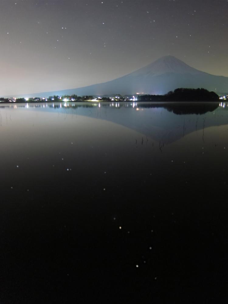 逆さ富士とさそり座 その2_b0167343_23432371.jpg