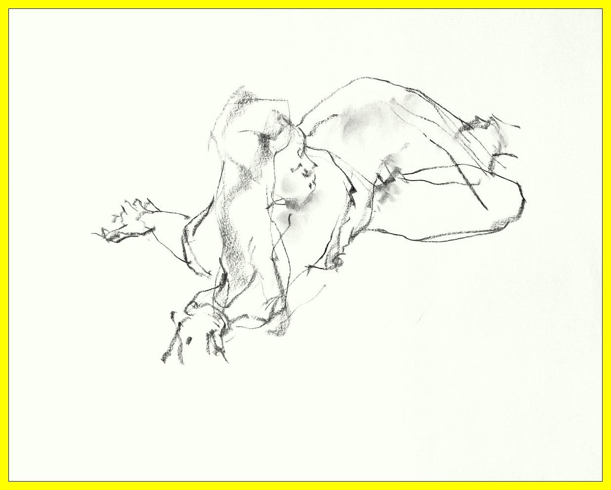 《 (菜の花十夜  7 )・・・esquisse裸婦木炭 》 _f0159856_11553440.jpg