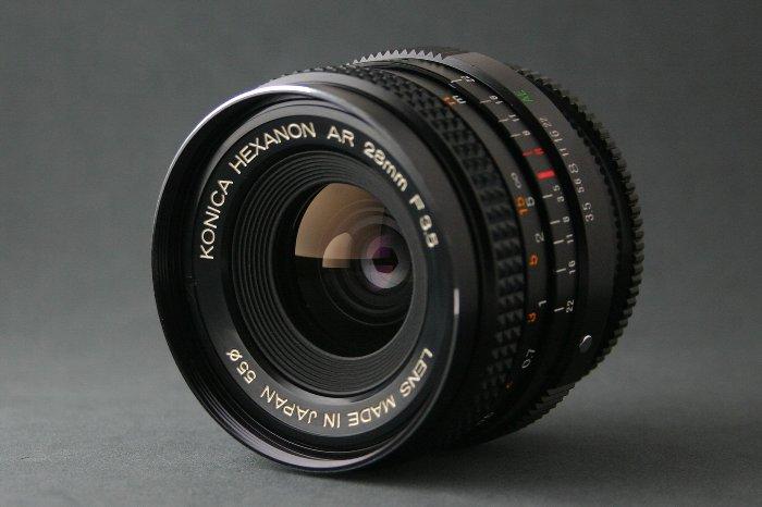 KONICA HEXANON AR 28mm F3.5 分解清掃_d0107372_16313366.jpg