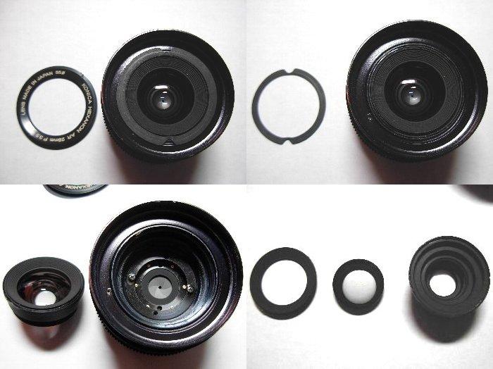KONICA HEXANON AR 28mm F3.5 分解清掃_d0107372_16343836.jpg