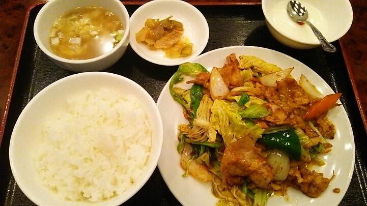 今日はホイコーロー!「味の初」@西新宿_c0212604_174276.jpg