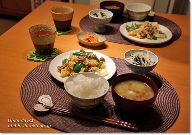 春キャベツの回鍋肉風炒め_f0179404_2274359.jpg