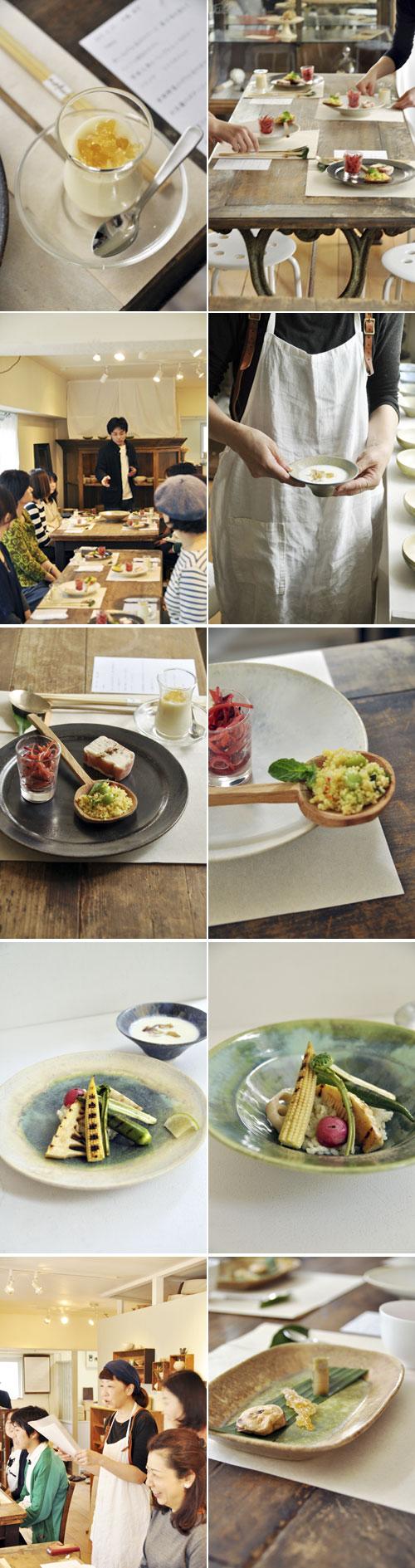 中園さんの器を使ったお食事会風景_d0023111_16295955.jpg