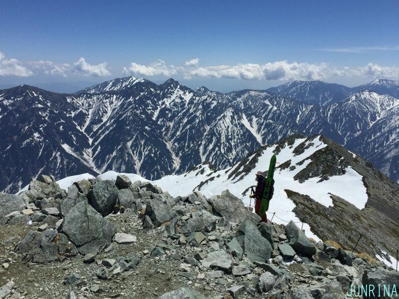 Rinaの立山BCトレーニング2日目_d0110562_19495257.jpg