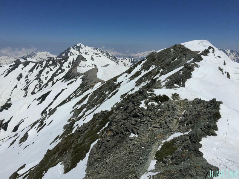 Rinaの立山BCトレーニング2日目_d0110562_19500452.jpg
