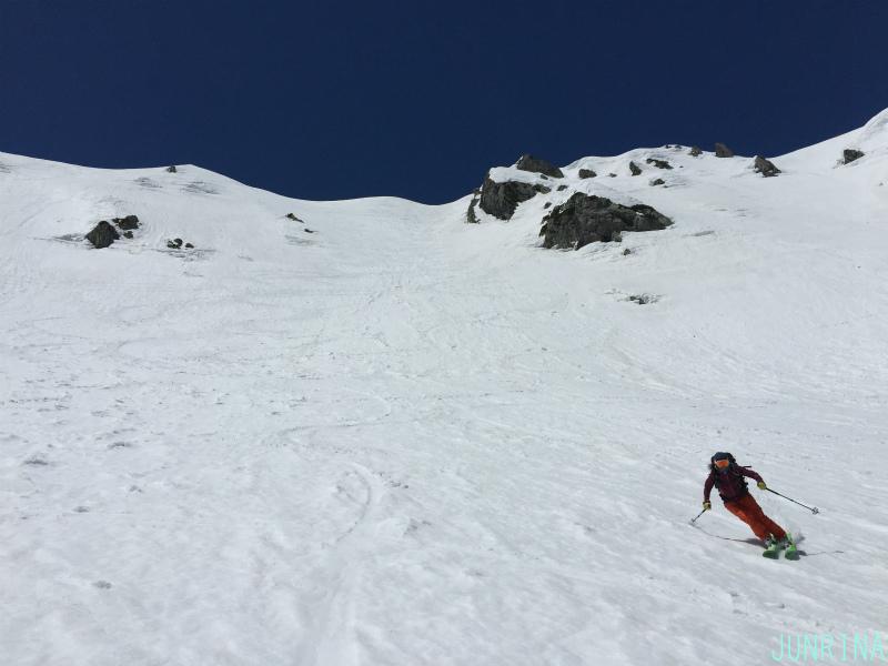 Rinaの立山BCトレーニング2日目_d0110562_19501326.jpg