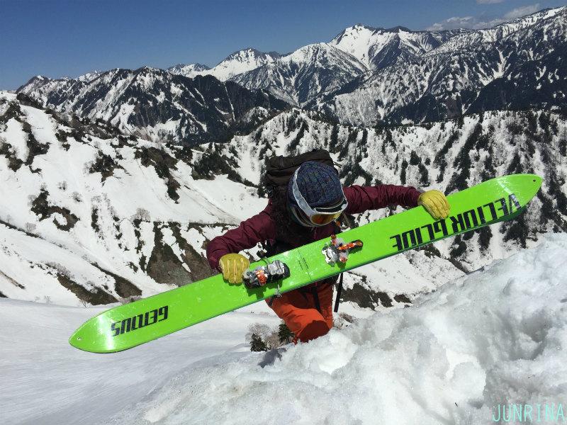 Rinaの立山BCトレーニング2日目_d0110562_19501706.jpg
