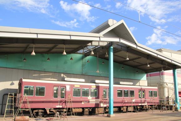 阪急正雀レポ 7022F まもなく新運転_d0202264_7442818.jpg