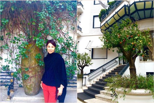 ローマ滞在はアールデコ様式の「Hotel Lord Byron」で♪_a0138976_193284.jpg