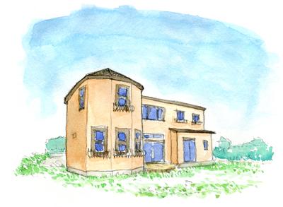 つくば市「とんがりぼうしの家」完成見学会のお知らせ_a0117794_1805248.jpg