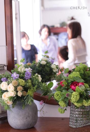 初夏の花であなたを彩る〜パーソナルブーケ_b0208604_17113941.jpg