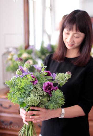 初夏の花であなたを彩る〜パーソナルブーケ_b0208604_17132288.jpg