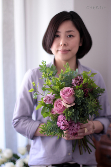 初夏の花であなたを彩る〜パーソナルブーケ_b0208604_17135879.jpg