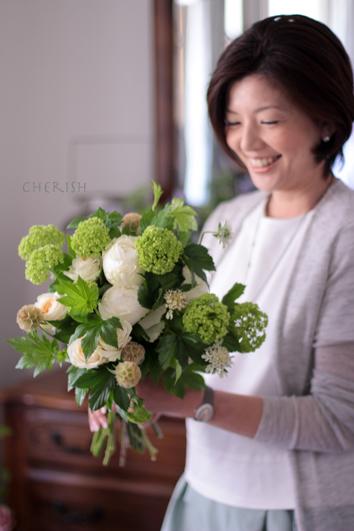 初夏の花であなたを彩る〜パーソナルブーケ_b0208604_17143736.jpg
