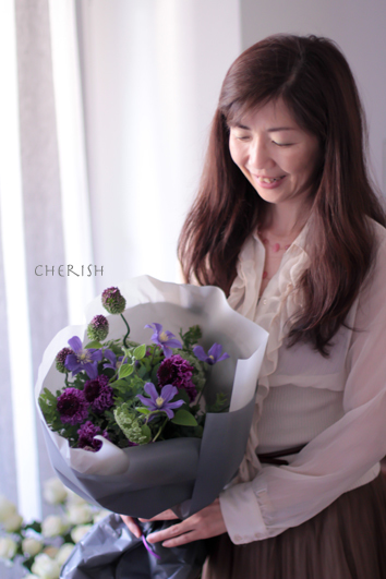 初夏の花であなたを彩る〜パーソナルブーケ_b0208604_17162652.jpg
