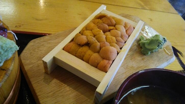 タカマル定食とウニ@タカマル鮮魚店(新宿)_c0212604_1513284.jpg