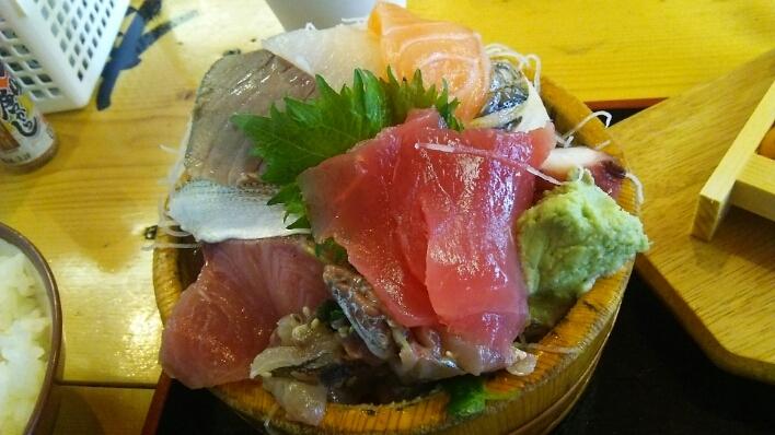 タカマル定食とウニ@タカマル鮮魚店(新宿)_c0212604_15142365.jpg