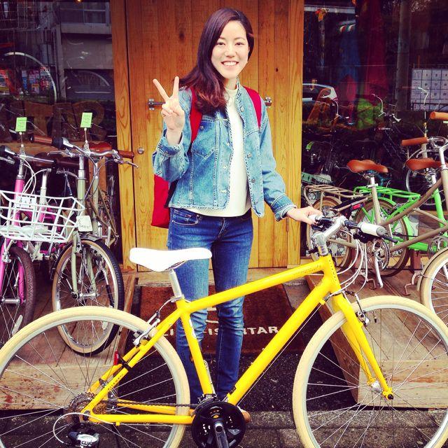 ☆今日のバイシクルガール10本立て☆ 自転車 女子 おしゃれ ミニベロ クロスバイク ロード リピトデザイン_b0212032_18431425.jpg