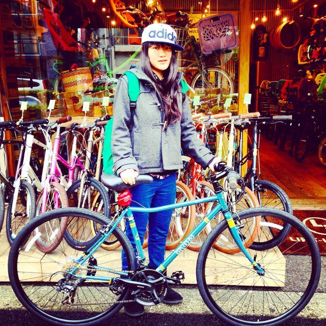 ☆今日のバイシクルガール10本立て☆ 自転車 女子 おしゃれ ミニベロ クロスバイク ロード リピトデザイン_b0212032_18434377.jpg