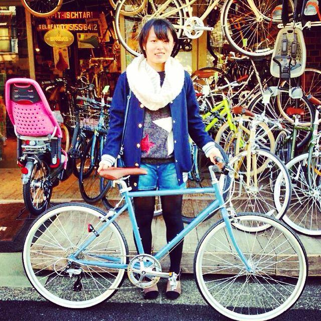 ☆今日のバイシクルガール10本立て☆ 自転車 女子 おしゃれ ミニベロ クロスバイク ロード リピトデザイン_b0212032_1844037.jpg