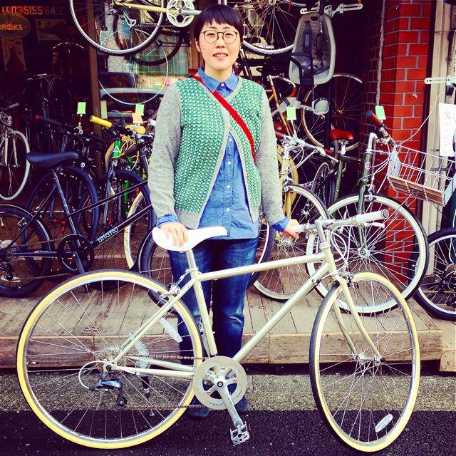 ☆今日のバイシクルガール10本立て☆ 自転車 女子 おしゃれ ミニベロ クロスバイク ロード リピトデザイン_b0212032_18442292.jpg