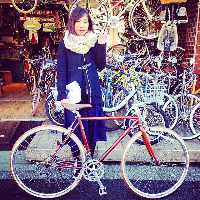 ☆今日のバイシクルガール10本立て☆ 自転車 女子 おしゃれ ミニベロ クロスバイク ロード リピトデザイン_b0212032_18443447.jpg