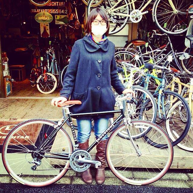 ☆今日のバイシクルガール10本立て☆ 自転車 女子 おしゃれ ミニベロ クロスバイク ロード リピトデザイン_b0212032_18445283.jpg