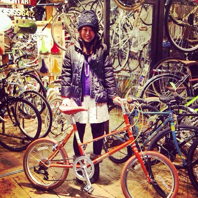 ☆今日のバイシクルガール10本立て☆ 自転車 女子 おしゃれ ミニベロ クロスバイク ロード リピトデザイン_b0212032_1845194.jpg