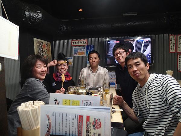 ウミウシセミナーin 大阪の後の懇親会_c0193735_20543325.jpg