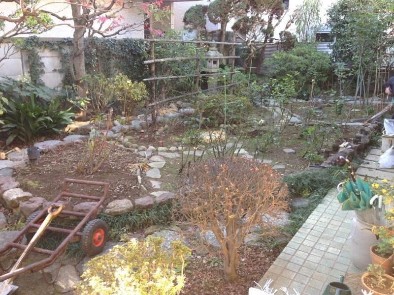 庭造り 「月見台」を造る_f0156448_14304600.jpg