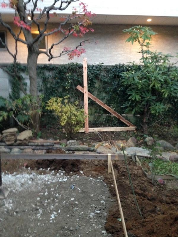 庭造り 「月見台」を造る_f0156448_14304618.jpg