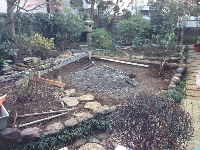庭造り 「月見台」を造る_f0156448_14304696.jpg