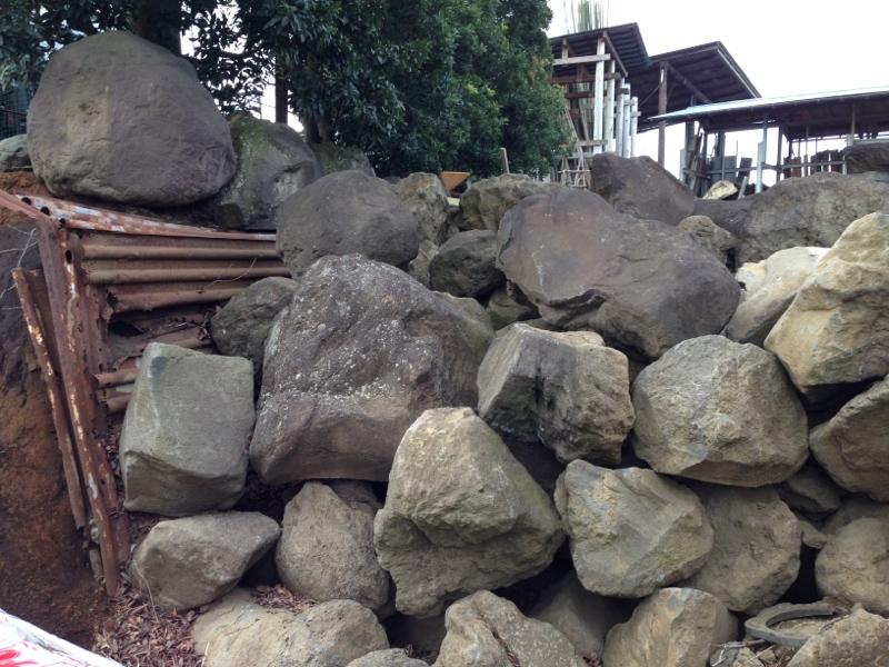 庭造り 「月見台」を造る_f0156448_14310535.jpg