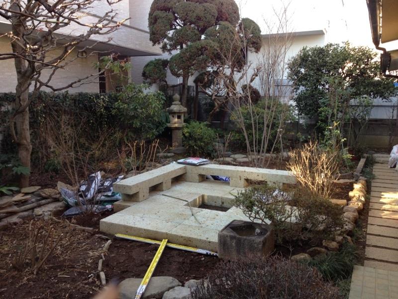 庭造り 「月見台」を造る_f0156448_14310597.jpg