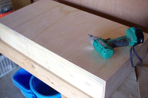 DIYで脱衣所棚の引き出しを作る。_c0110869_6565978.jpg