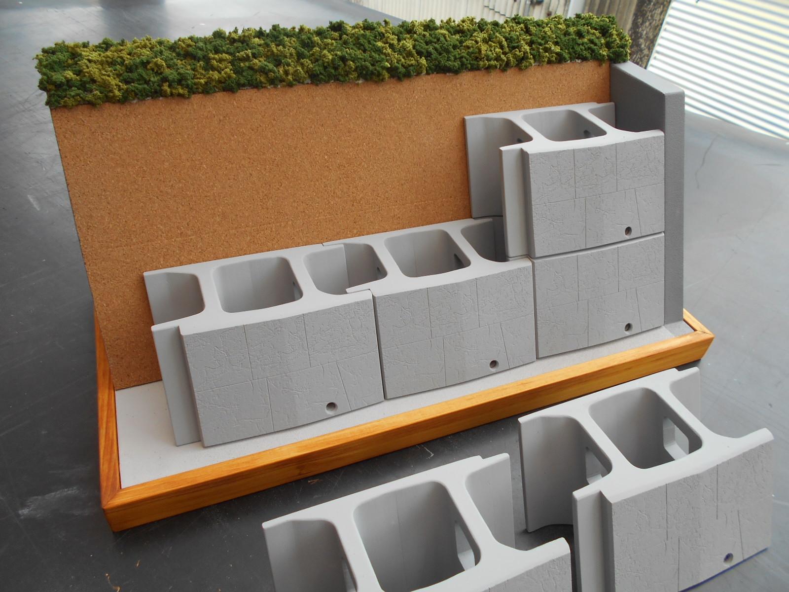 コンクリートブロックの製作_e0146402_22374231.jpg