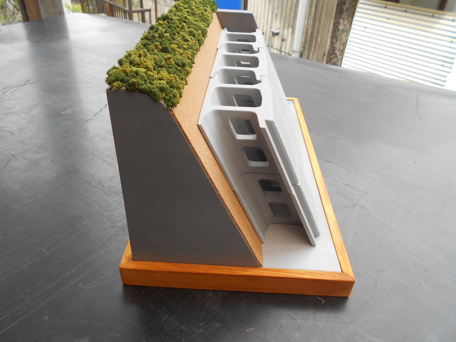 コンクリートブロックの製作_e0146402_22391529.jpg