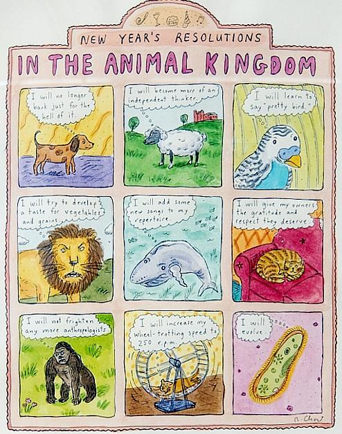 アメリカを代表する漫画家の一人、Roz Chastさんの個展 Something More Pleasant_b0007805_22212912.jpg